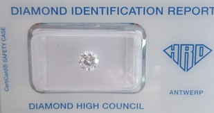 0,73 ct. / River D /IF / HRD